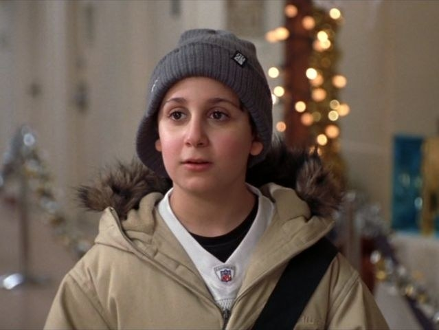 Daniel Tay as Michael in  Elf : - Fun fact:  The football jersey Michael wears is that of Wayne Chrebet, former wide receiver for the New York Jets.