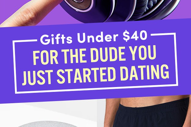 Gifts for a man you just started dating