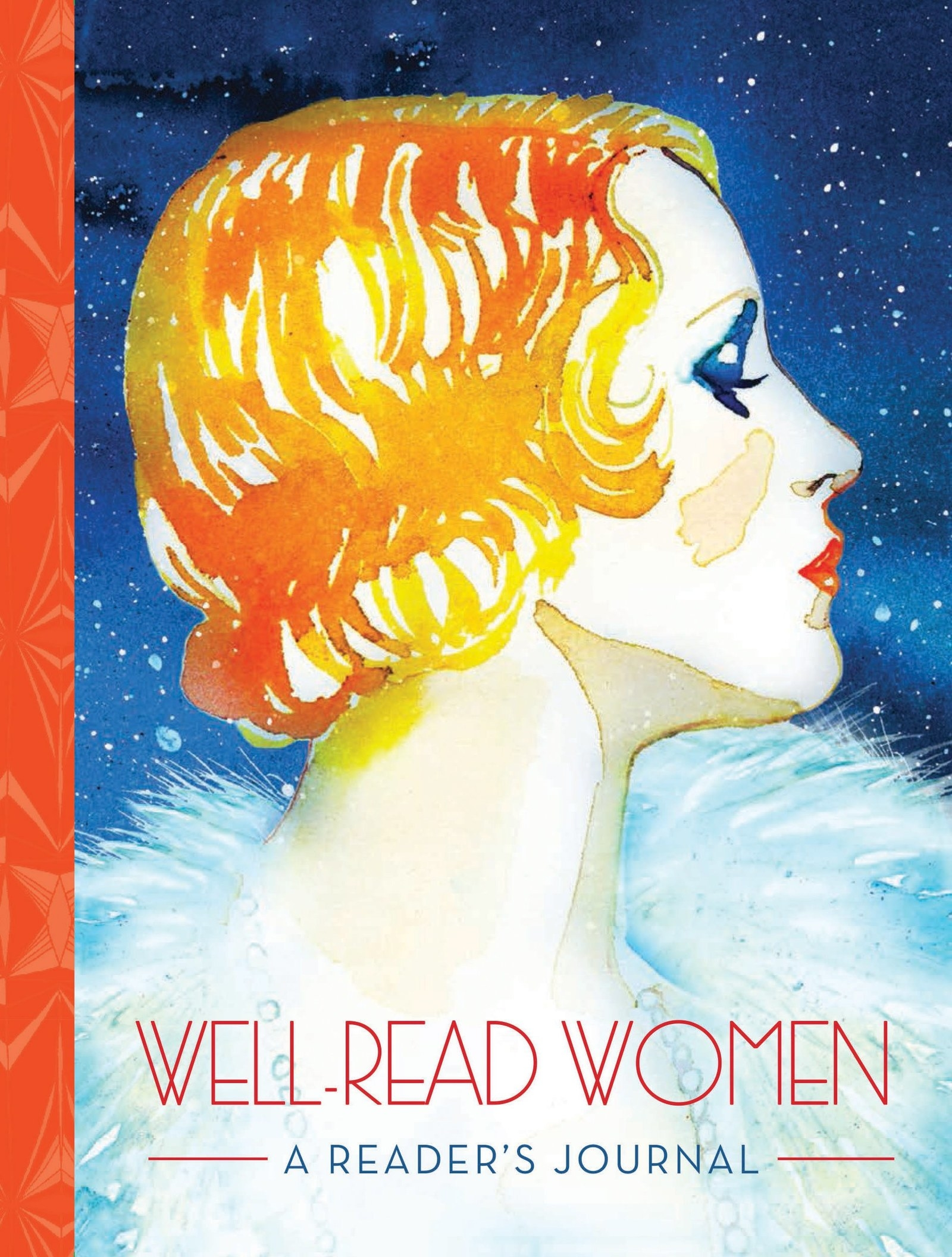 Or a reading journal featuring watercolor illustrations of female  characters (and their iconic quotes) woven throughout your book log. c9d9b8e68