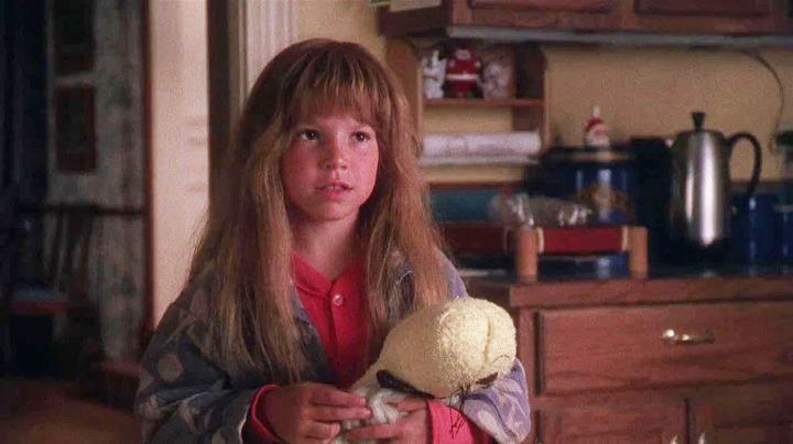 Ellen Latzen as Ruby Sue in  National Lampoon's Christmas Vacation : - Fun fact:  Ruby Sue is wearing a wig in the film. Latzen had a mullet  underneath it.