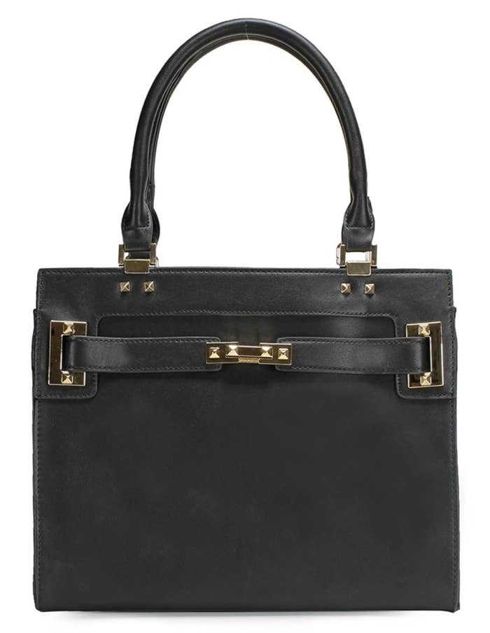 7adda49494 1. A polished-looking tote everyone will believe you got at some  fancy-shmancy department store.