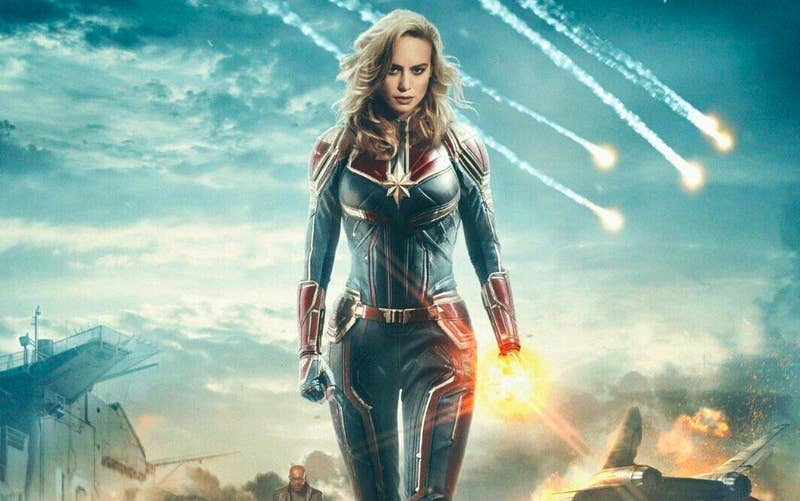 When does it come out?  March 8Why we're excited: We've seen a bit of everything in the Marvel Cinematic Universe ... except a movie centered on a super-heroine. Carol Danvers (played by Oscar winner Brie Larson) will change that.
