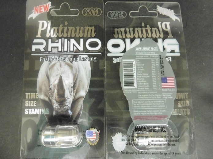 Rhino Sexual Enhancement Pills May Contain Dangerous