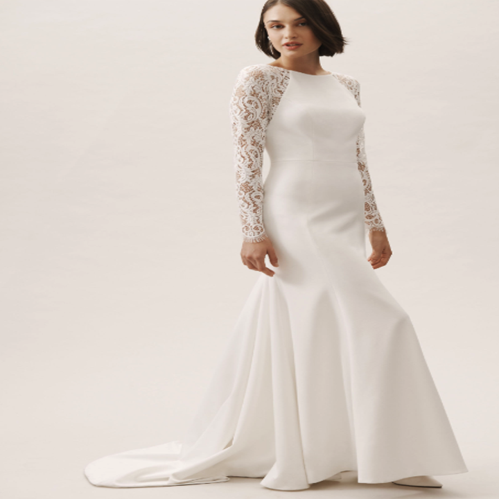 23 Incredibly Gorgeous Wedding Dresses With Sleeves,Plus Size Lace Wedding Dress With Sleeves
