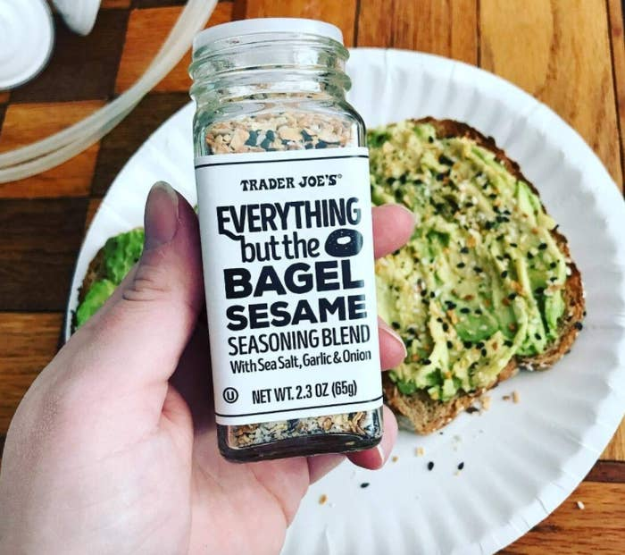 """This seasoning is perfect for any breakfast/brunch food you can think of! Your scrambled eggs and avocado toast will never be the same. Promising review: """"This seasoning blend is just stupidly delicious. My favorite use so far was for making homemade gluten-free bagels. They. Were. AMAZING. I thought I made enough bagels for the a few days, but my family ate them all in 24 hours. This is really fabulous sprinkled on scrambled eggs, too. My nearest Trader Joe's is over an hour away, so happy to be able to order this here."""" —Kindle Customer Get it from Amazon for $6.57."""