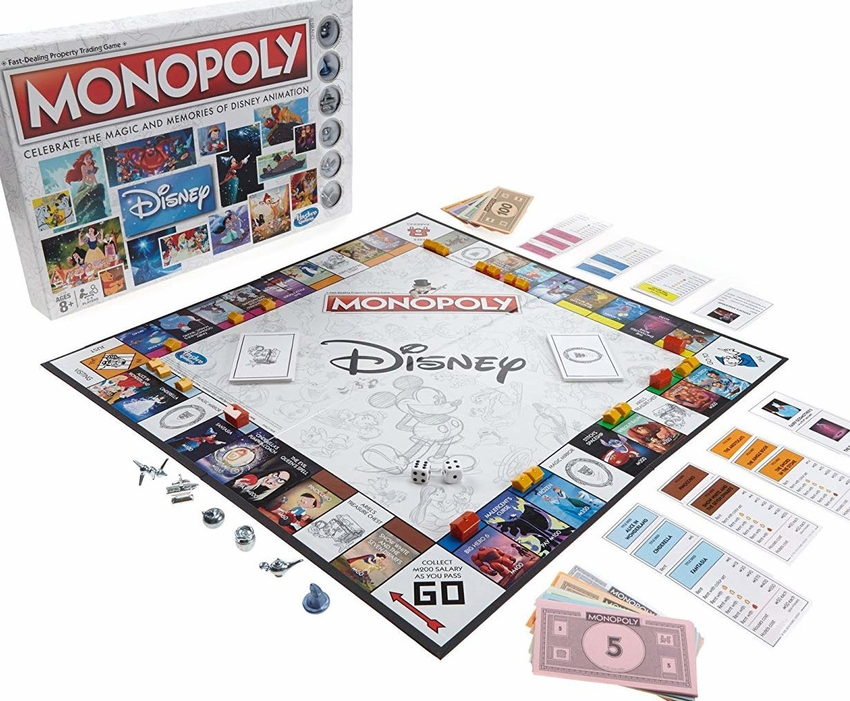 disney monopoly board