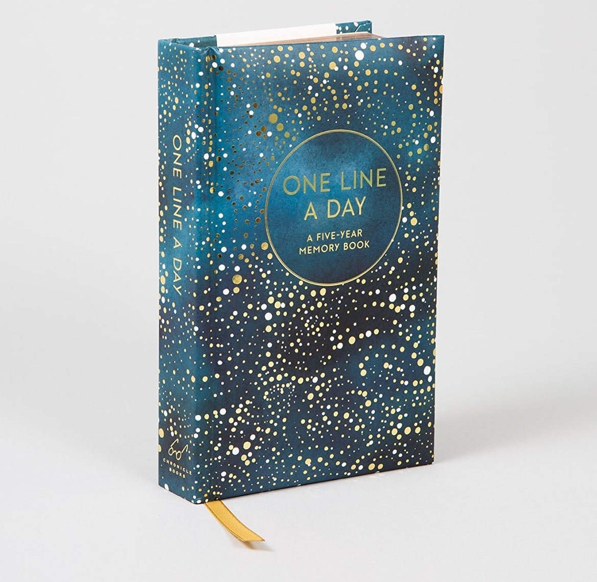 The journal with a star-like cover print