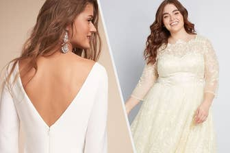08efc5157497 23 Beautiful Wedding Gowns With Sleeves That Will Make You Say