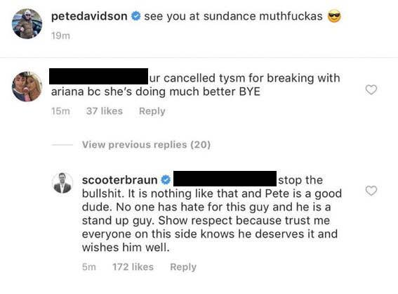 Ariana Grande's Manager Just Jumped On Instagram To Defend