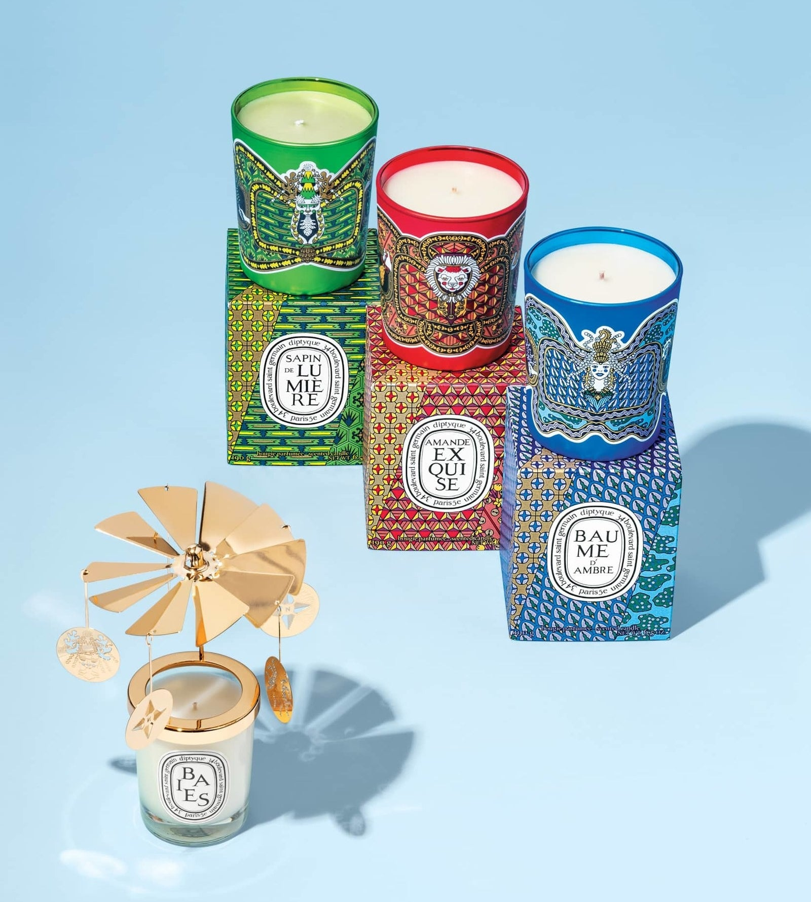 Seriously, give them a Diptyque candle and their eyes will roll back in their head from joy. Get them from Nordstrom for $72 each: Sapin de Lumière (green; scent of fir and cedar), Amand Exquise (red; scent of almond and tonka bean), and Baume d'Ambre (blue; scent of vanilla, benzoin, and lavender)Also available as a votive set.