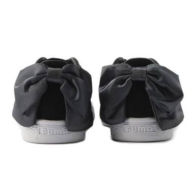 a5178bb51dd3 23. A pair of suede sneakers with a satin bow on the back that will make  your girly-girl sister scream with excitement.