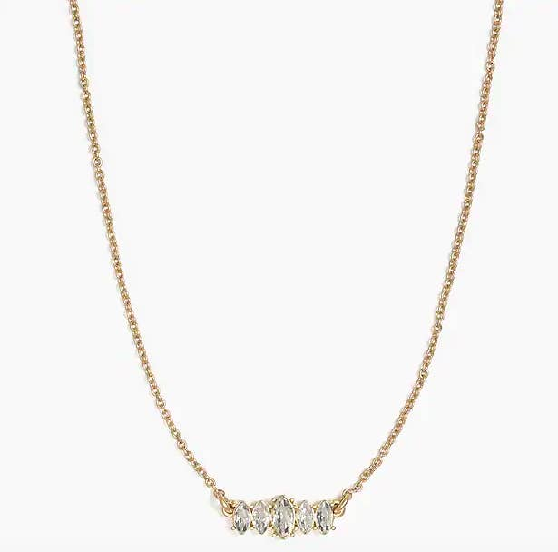 Tiny Gold Diamond Choker Gold Rhinestone Necklace Crystal Necklace Gold Necklace Cheap Christmas Gift for Friend Girlfriend Bridesmaids