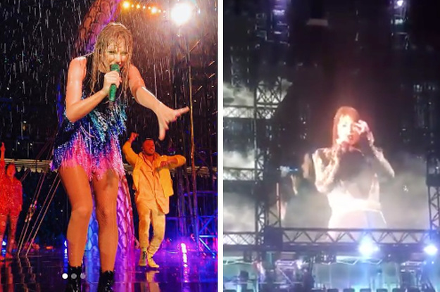 Taylor Swift Ripping Off Her Fake Eyelashes Mid-Show Is A Whole-Ass Mood