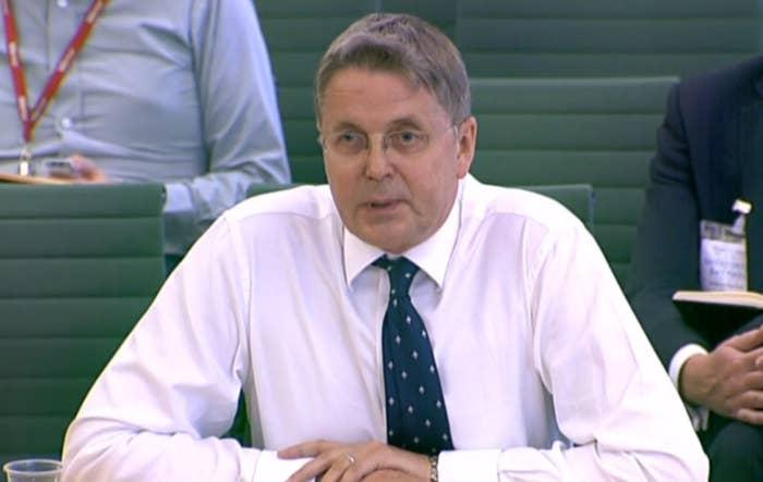 Jeremy John Heywood, permanent Secretary to the Cabinet in Downing Street.
