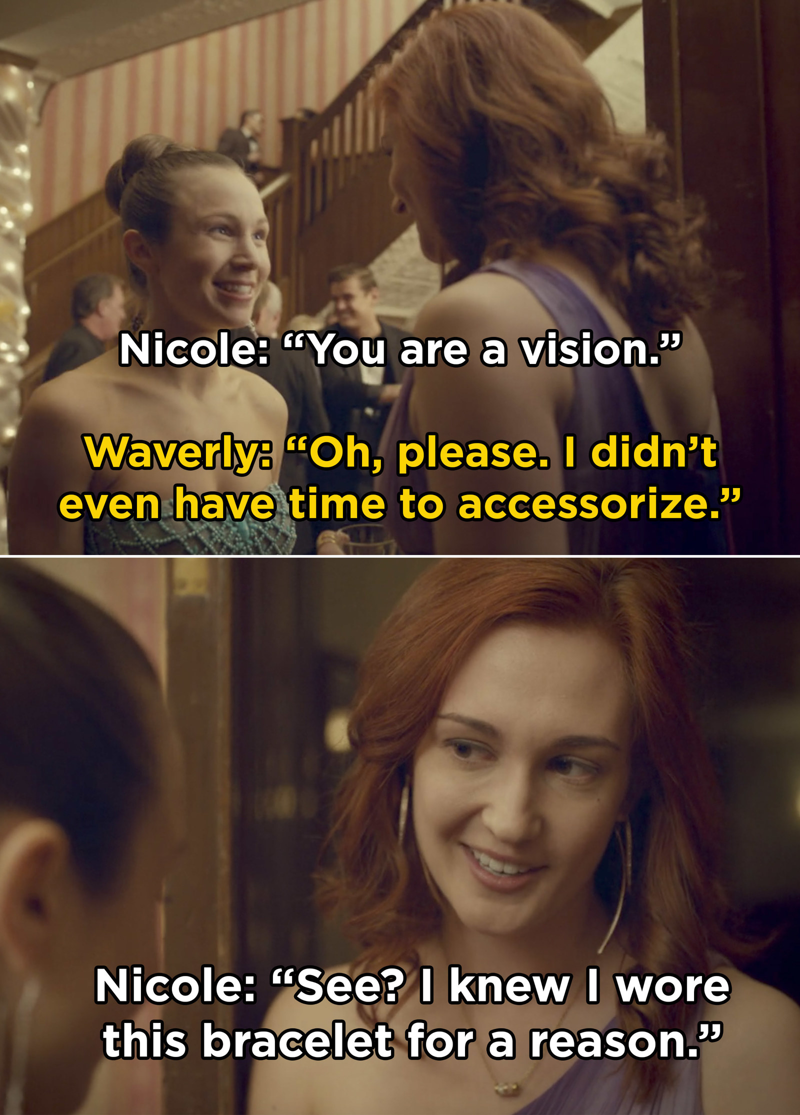 Wynonna Earp Best Waverly And Nicole Moments Waverly's childhood crush, nicole, is back in town just in time to distract her from the local baking competition she's desperate to win. wynonna earp best waverly and nicole