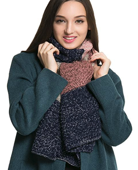 451391db4 A thick cable scarf that you can pair with either your heavy coat or a  simple sweater to stay snug as a bug all day.