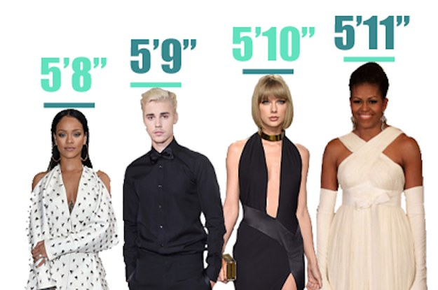 Which Celebrity Do You Share Your Height With?