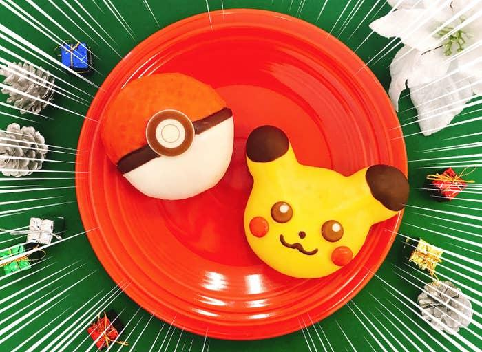 ミスタードーナツは16日から、期間限定のポケモンドーナツ2種類を発売します!新作ゲーム『ポケットモンスターLet's GO! ピカチュウ・Let's GO! イーブイ』とのコラボによる商品です。