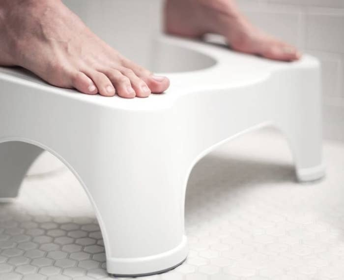 """Promising review: """"Unbelievable that I've been performing a basic bodily function incorrectly my entire life. This is a wonderful product that is well worth the money. It allows one to adopt a natural, healthy position without giving up a western style toilet. You just have to use it to truly appreciate it."""" —Amazon CustomerGet it from Amazon for $24.99."""
