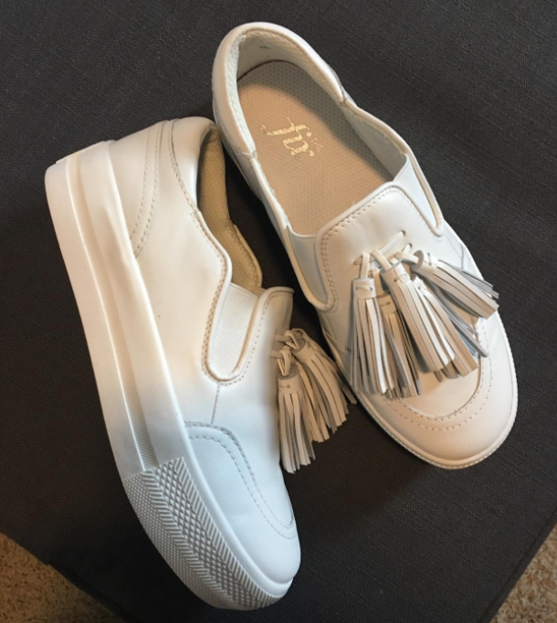 616dacea8ccffd Slip-on sneakers currently driving high heels into extinction, thanks to  their platform soles. Added height without added pain? It's a miracle.