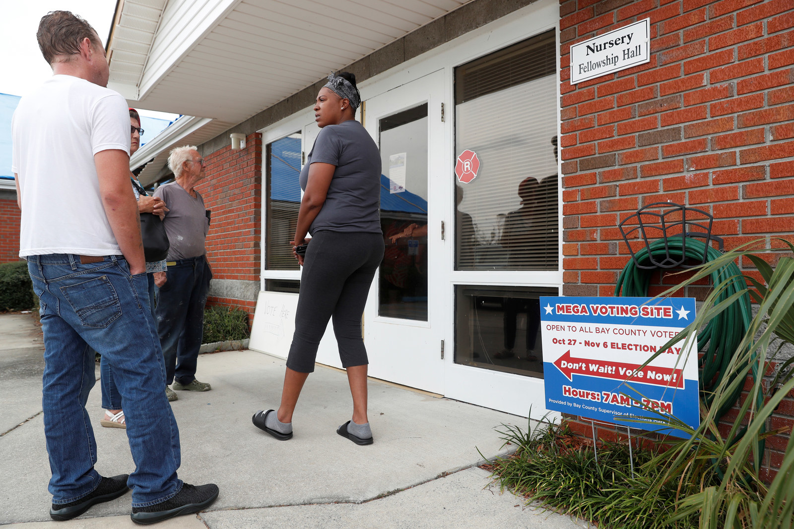 """Civil Rights Groups Say """"Mega Voting Sites"""" In Florida's Bay County Are Causing Confusion"""