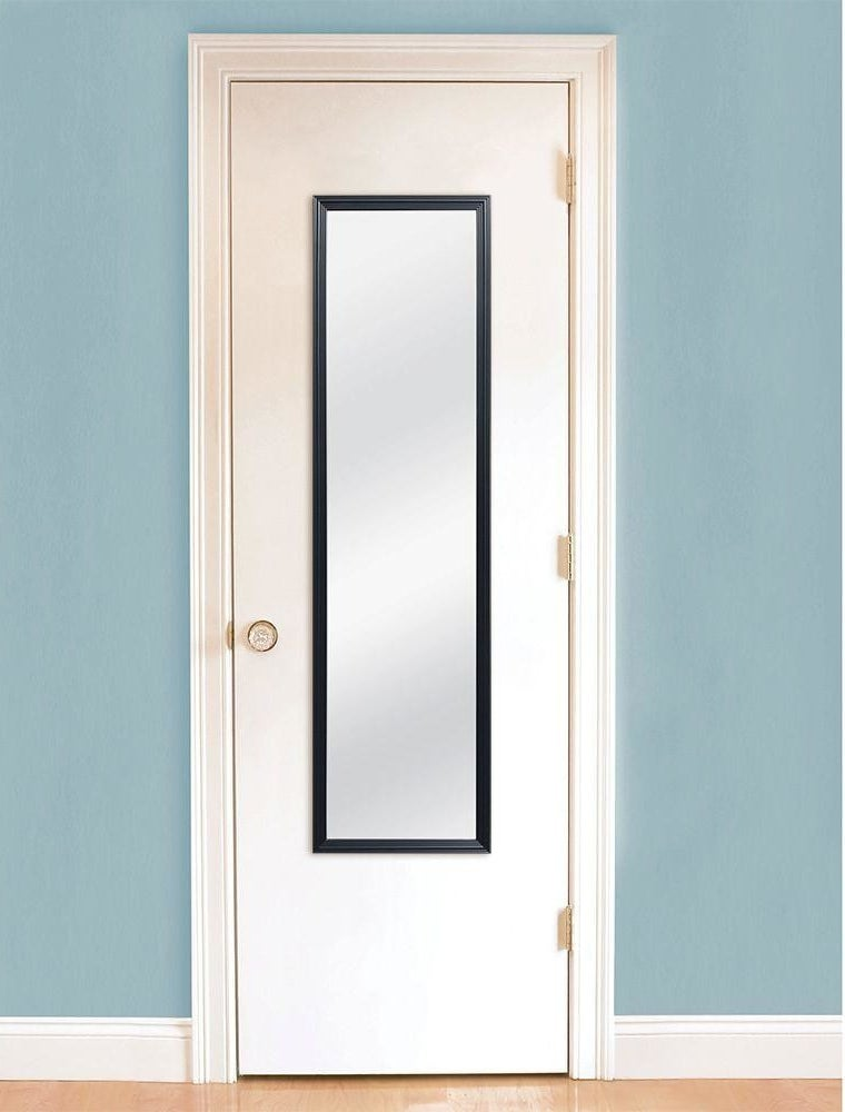 """It doesn't come with any actual mounting hardware, but you can buy some separately and the cost *still* stays well under $10! Promising reviews: """"Lightweight, inexpensive, good reflection, not the funhouse type. Bought one for my bedroom and one for the basement guest room."""" —prettyflowers2""""These mirrors are perfect for the back of a door. The image is just as clear and clean as a more expensive mirror. I never expected to find these mirrors so reasonably priced. A great deal by far!"""" —AmrieGet the mirror for $5.96 (available with a black, white, or light green frame), an eight-pack of simple mirror mounting hardware for $2.96, and/or four pairs of the removable adhesive Command strips for $4.48, all from The Home Depot."""