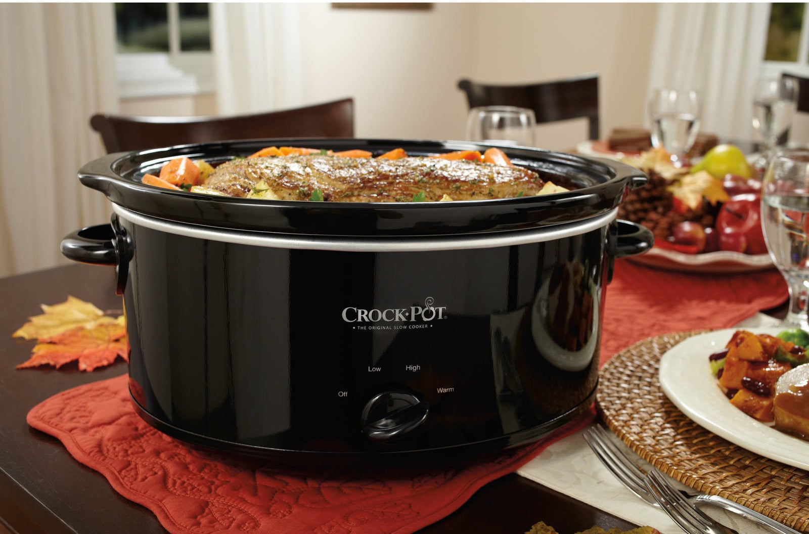 "Never, and I mean NEVER, underestimate the power of a good Crock-Pot. This specific one is dishwasher-safe (yes!), has removable oval stoneware that doubles as a serving dish, and a convenient warm setting (for the family that is frequently eating at different times). It makes enough food to feed nine people — just imagine how many meals you can freeze for another night!Promising review: ""My mom had one, I have one, and now my young adult daughter has one! Trusted companion through time. Lots of competition out there, but I swore and swear by Crock-Pot. After visiting 'brick and mortar' retailers, I convinced her she didn't need the 'digital' stuff. This product keeps it simple. The bonus was that it came with a cookbook — which is TERRIFIC! Who else could do it better? Thank you!"" —kanekGet it from Walmart for $19.77."