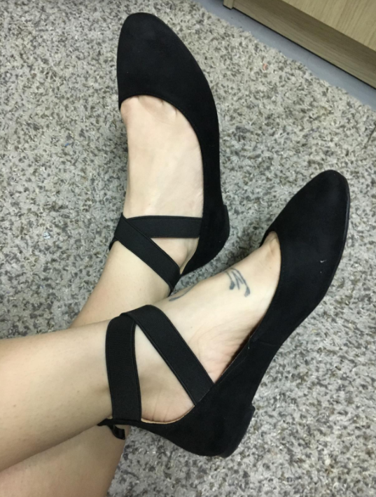 5fdb72af41c2 Classic ballerina flats that inspire their wearers to randomly burst out  into