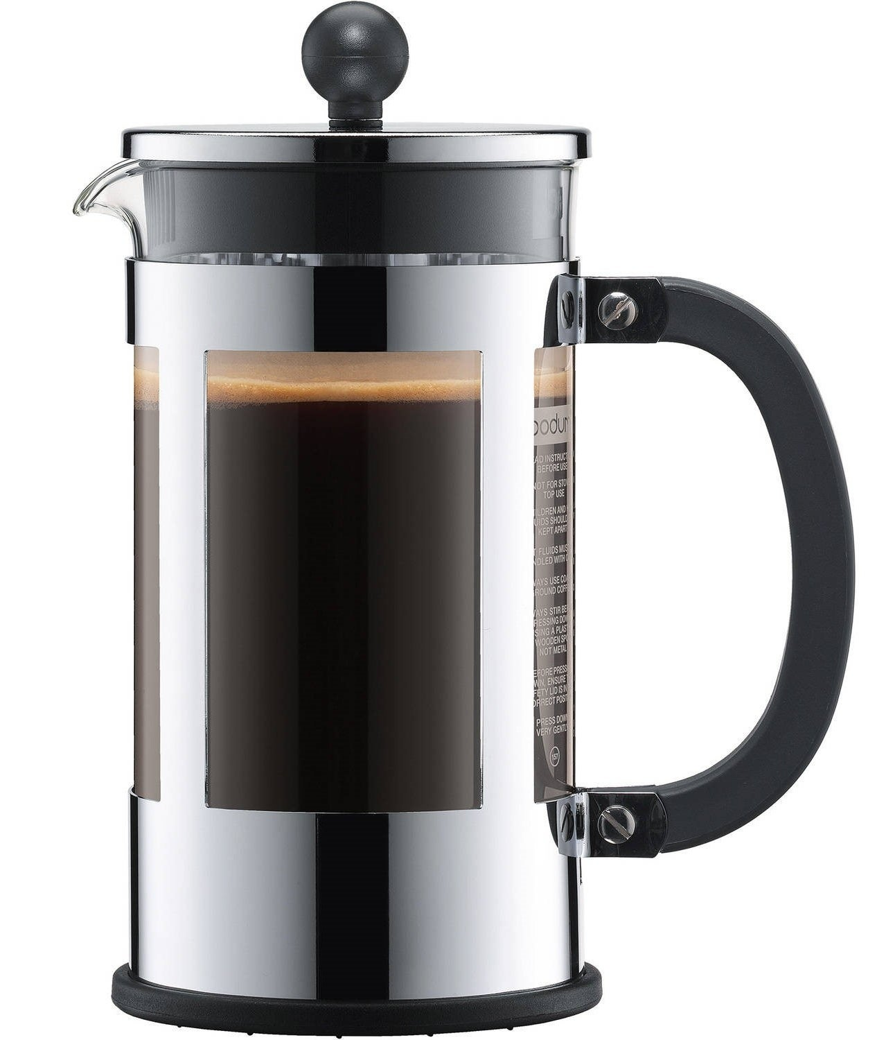 Quick coffee is convenient, but it also usually tastes as such. Take a little extra care making your morning cup 'o joe by spending some time with this durable French press. It's ideal for finely ground beans and honestly will just look super fancy on your kitchen counter.Get it from Walmart for $19.64+ (available in 3-cup, 4-cup, or 8-cup options).