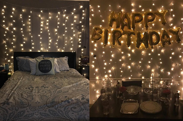 This String Light Curtain Is Perfect For Weddings Parties And Any Room In The House