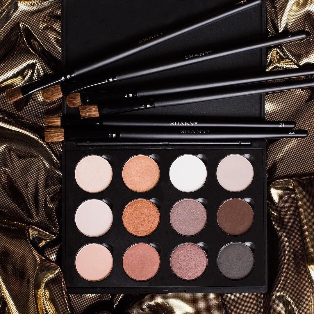 The neutral-shaded eyeshadow palette
