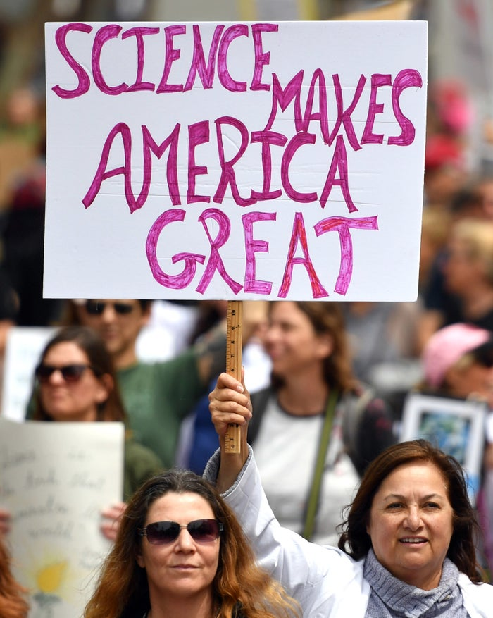 March for Science in 2017.