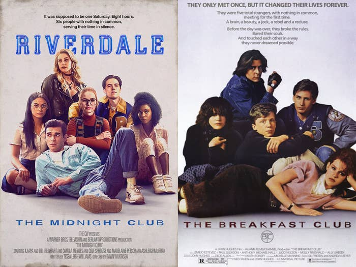 In both cases, a group of unlikely friends are forced to spend Saturday detention together and end up becoming incredibly close.