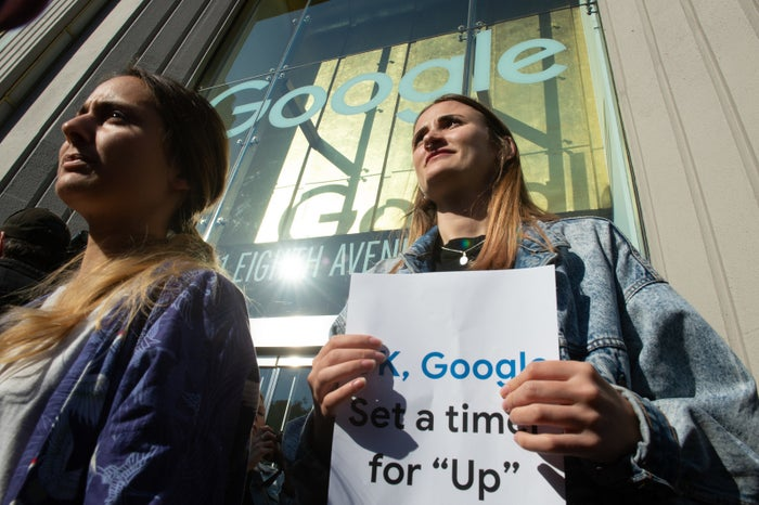 Google employees staged a walkout last week in New York to protest sexual harassment and misconduct at the company.