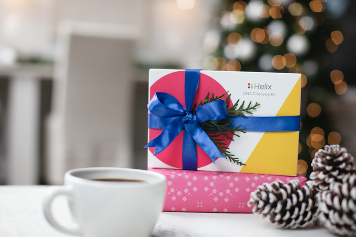 This baby is truly the next generation of DNA testing. The DNA Discovery Kit unlocks actionable insights on ancestry and wellness and captures 100 times more data than most other at-home DNA tests for a happier holiday. Get it here!