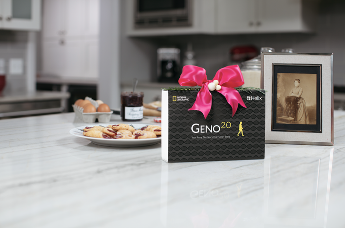 Geno 2.0 will uncover the details of your loved one's ancestral makeup to give them a deeper understanding of where they come from. But don't get mad at us if they expect you to curtsy because they found out they're related to Marie Antoinette. Get it here!
