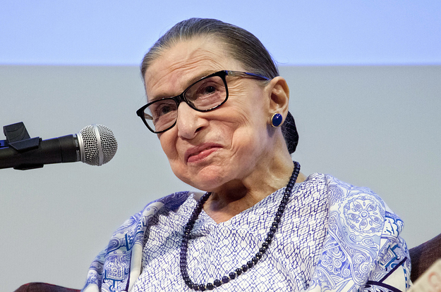 Good News: Ruth Bader Ginsburg Is Out Of The Hospital Back To Work After Falling At The Supreme Court