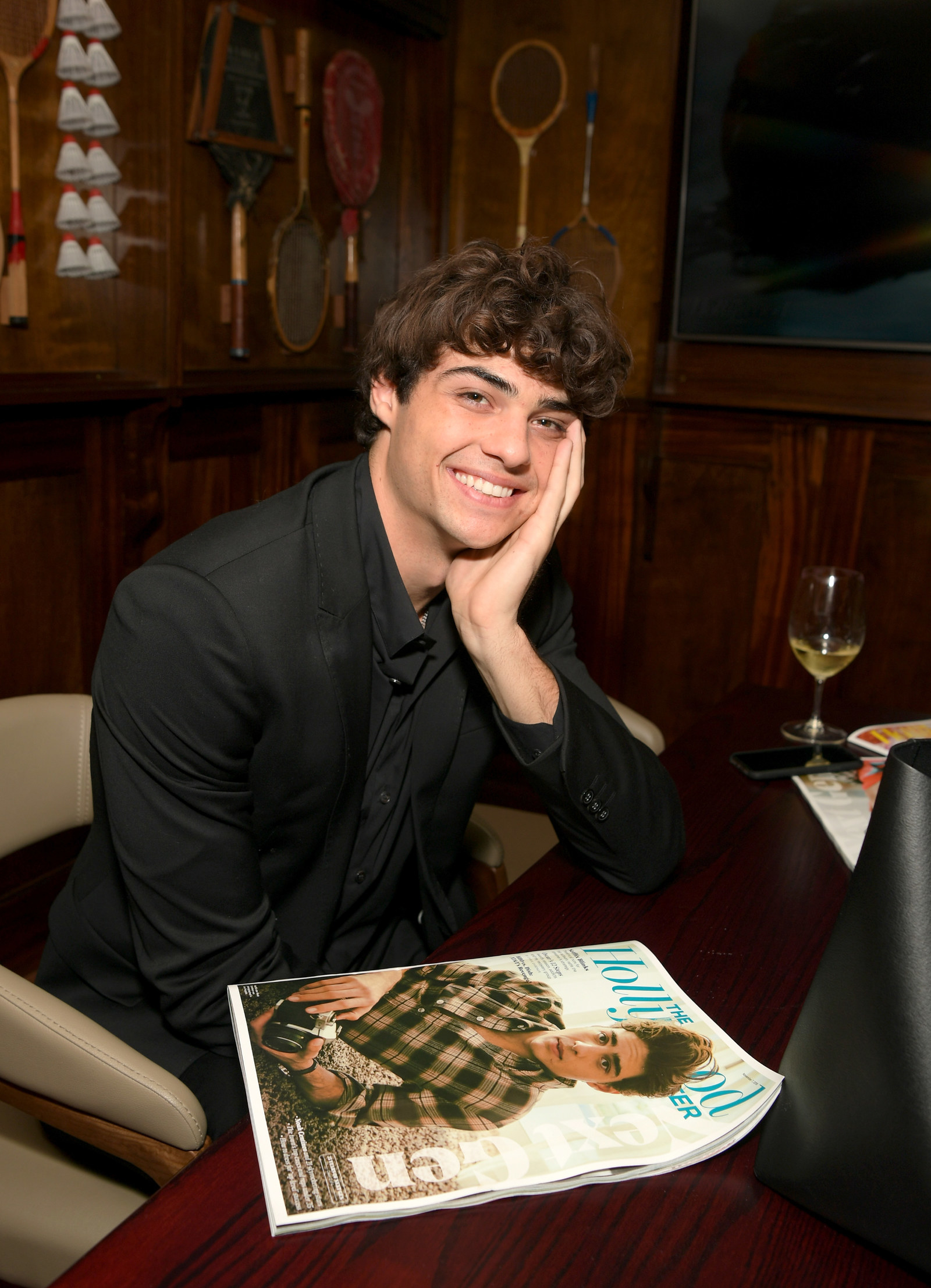 Sorry to the world, but your fave Noah Centineo just got busted.