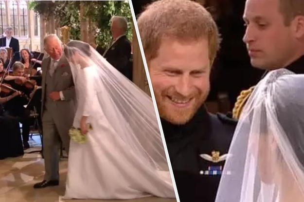 Prince Harry Opened Up About Prince Charles Stepping In To Walk Meghan Down The Aisle