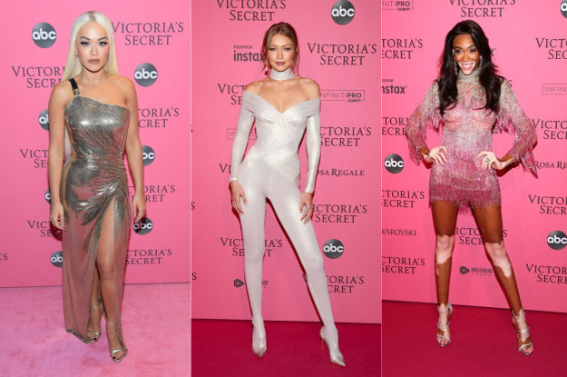Here's What Everyone Wore To The 2018 Victoria's Secret Fashion Show