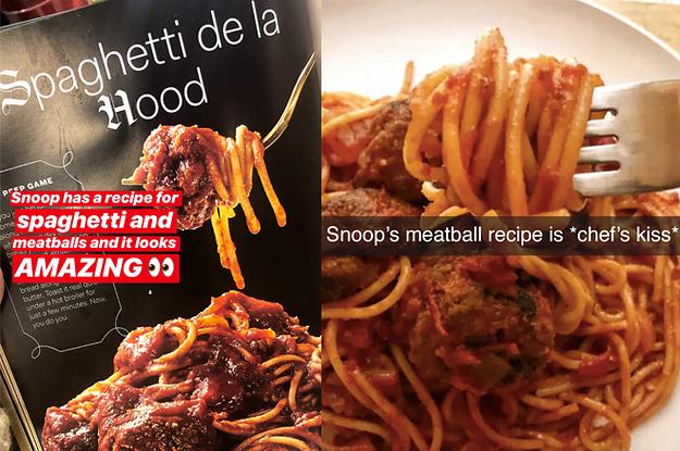 snoop dog cook book
