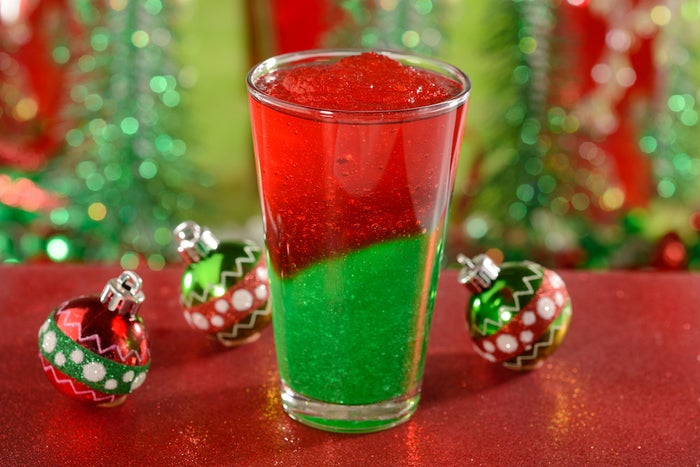 What's in it: Red and green strawberry lemonadeWhere it's located: Cosmic Ray's Starlight Café