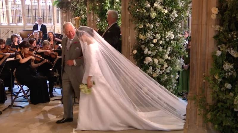 """Meghan's father, Thomas, pulled out of attending the wedding only several days before. In a statement released by Meghan, she said: """"I have always cared for my father and hope he can be given the space he needs to focus on his health."""""""