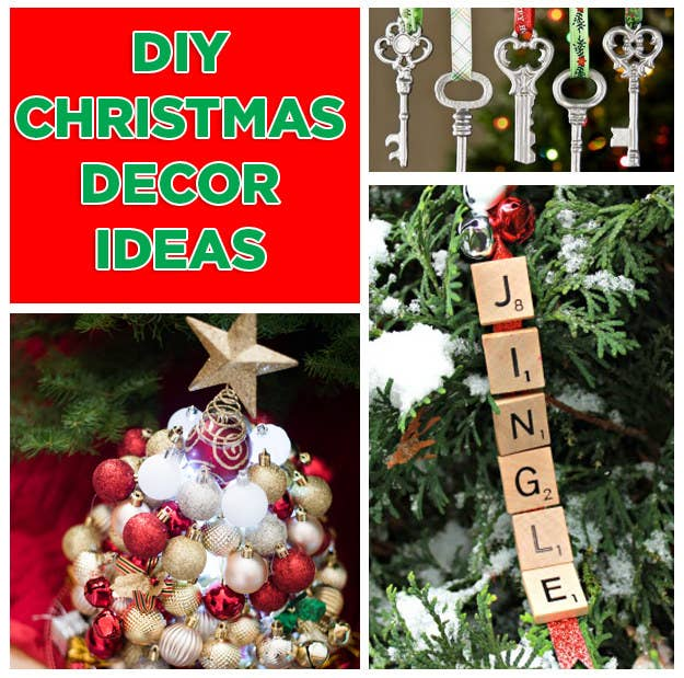 19 Christmas DIY Projects That Are Both Easy And Adorable. '