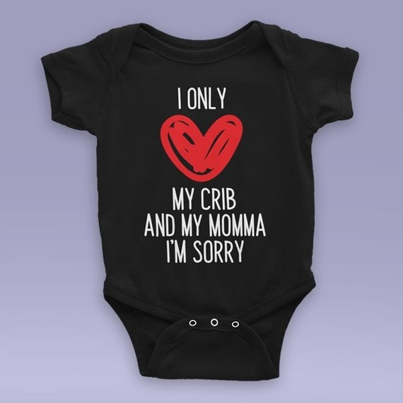 e9b4243c A hilarious onesie that'll match their parents' style, no matter what that  is.