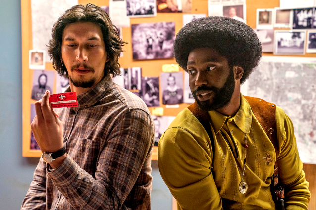 """After the release of the trailer for Spike Lee's true story film BlacKkKlansman  , the REAL David Duke contacted the REAL Ron Stallworth because he was """"concerned about his portrayal"""" in the movie. -  """"He's concerned about how he's going to be portrayed in this film. He's only seen the trailer and in the trailer,  it makes him out to be a buffoonish, cartoonish idiot ,""""  Stallworth  said."""