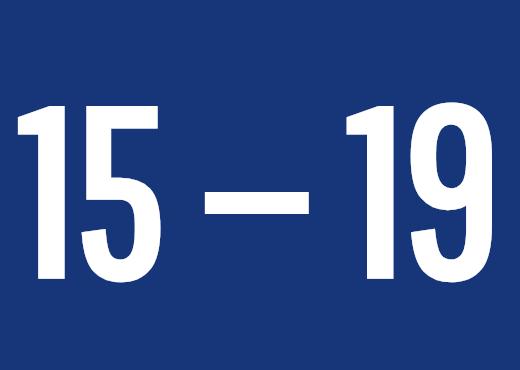 15 — 19