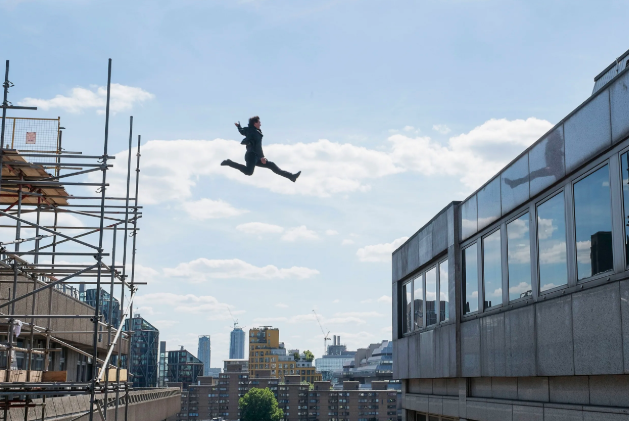 """Tom Cruise insists on doing all his own stunts (including flying his own helicopters), but severely injured his ankle while filming Mission: Impossible — Fallout  . -  """"That's the stunt, I hit the side of the wall, then I'm supposed to run past the camera,""""  Cruise  said."""