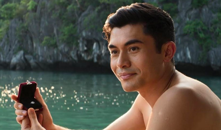 """Henry Golding originally turned down the opportunity to audition for Nick Young in Crazy Rich Asians because he thought it called for """"a legitimate actor."""" -  """"It's my first ever movie. I've been a presenter in studios, I was a travel host for seven years, and I wasn't in that frame of mind,""""  Golding  said. """"So when the offer came, I was like ' Oh my god, I've heard of this, but it's for someone else who's a legitimate actor  that the studio is going to gamble on.'"""""""