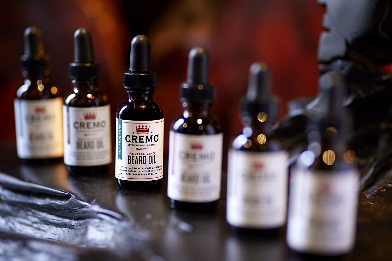 A bottle of the beard oil